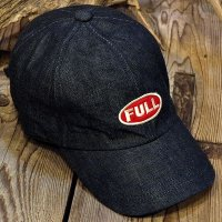 "FULLCOUNT ""FULL WAPPEN DENIM CAP"""