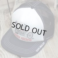 """TOYS McCOY -MESH CAP """"RIDE TO LIVE,LIVE TO RIDE""""-"""