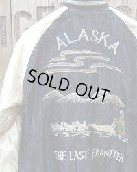 "TAILOR TOYO -ACETATE SOUVENIR JACKET ""Dog Sled""×""Alaskan Husky""-"