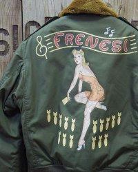 "TOYS McCOY -TYPE B-10 / NOSE ART ""FRENESI""-"