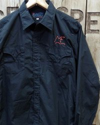 "MFSC   -BROAD CLOTH ""DUDE RANCH"" SHIRT w/EMB'D-"