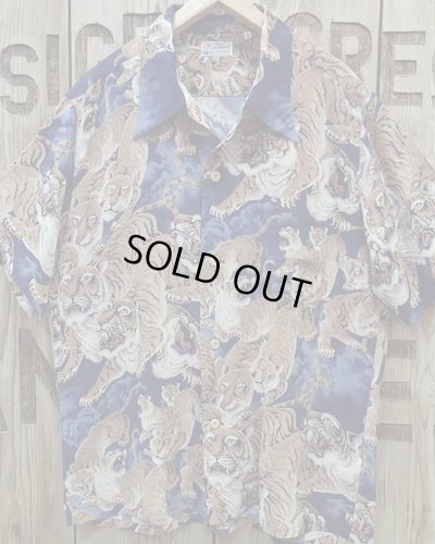 "画像2: SUN SURF -""One Hundred Tigers"" KALAKAUA- Hawaiian Shirts"