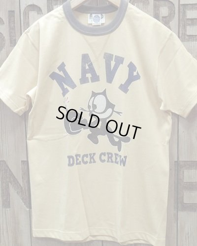 "画像3: TOYS McCOY -MILITARY TEE SHIRT ""NAVY DECK CREW""-"