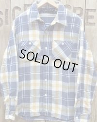 """FULLCOUNT -ORIGINAL CHECK NEL SHIRTS """"SOUTHER""""-"""