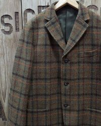 FULLCOUNT -TWEED SACK JACKET- Harris Tweed