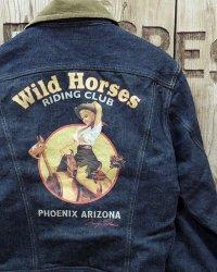 """TOYS McCOY -LOT 100LJ DENIM JACKET """"WILD HORSES""""-"""