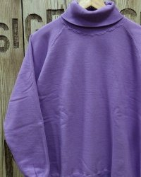 "DUBBLE WORKS ""TURTLENECK SWEAT SHIRT"""
