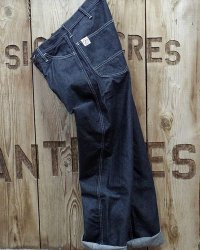 FULLCOUNT -DENIM CARPENTER PANTS-