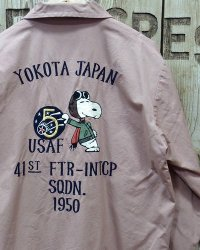 BUZZ RICKSON'S × PEANUTS -SNOOPY TOUR JACKET-