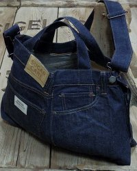 "Sugar Cane ""5 POCKETS REMAKE BAG"""