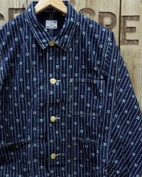 FULLCOUNT -SHORT COVERALL INDIGO WABASH-