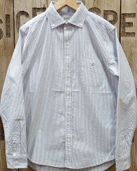 BARNS -OXFORD STRIPE BD SHIRT-