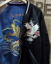 "TAILOR TOYO -SOUVENIR JACKET ""DRAGON""×""EAGLE PRINT""-"
