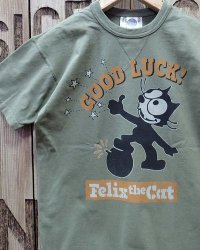 "TOYS McCOY -MILITARY TEE SHIRT ""GOOD LUCK!""-"