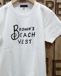 "BROWN'S BEACH TEE2 ""BBJ10-016"""