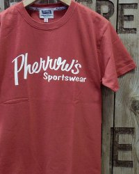 "Pherrow's ""PT1"" BRAND LOGO TEE"