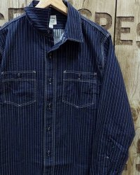 "Pherrow's ""20W-725WS"" Seersucker Stripe Shirts"