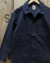 FOB FACTORY F2408 -FRENCH DENIM COAT-