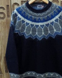 "Pherrow's ""20W-PSFS1"" Jacquard Sweater"