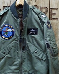 "BUZZ RICKSON'S × PEANUTS -""TYPE L-2B"" FLYING ACE-"