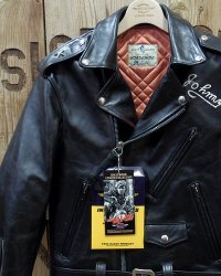 "TOYS McCOY -DURABLE CODE33 DOUBLE RIDERS JACKET ""THE WILD ONE""-"