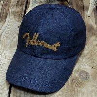FULLCOUNT 6007 -Chain Embroidery Denim Cap-