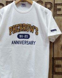 "Pherrow's ""21S-PTP1-30th"" Embroidered Tee"