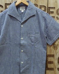 """Pherrow's """"21S-PICS1"""" Vtg Italian Collar S/S Shirt"""