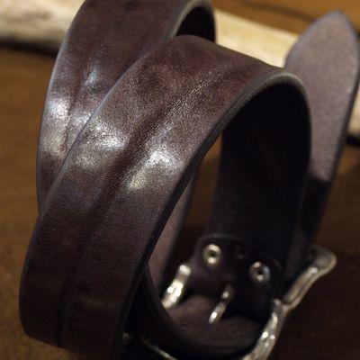 """画像3: BARNS Leather Belt """"LE-4168"""""""