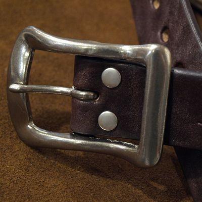 """画像2: BARNS Leather Belt """"LE-4168"""""""