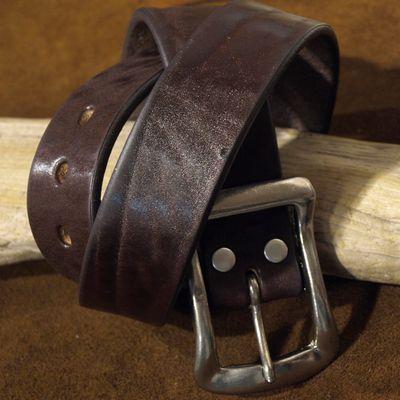 """画像5: BARNS Leather Belt """"LE-4168"""""""