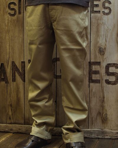 "画像3: Pherrow's ""COT"" Stylish Chinos"