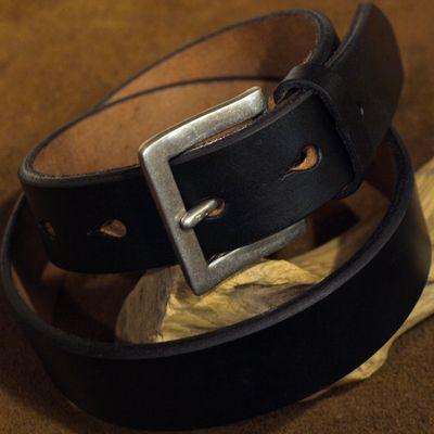"""画像4: Pherrow's """"SBB4"""" UK Saddle Leather BELT"""
