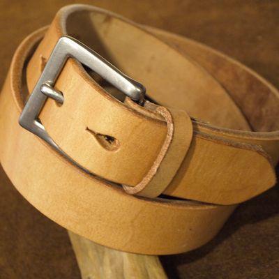 """画像3: Pherrow's """"SBB4"""" UK Saddle Leather BELT"""
