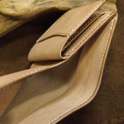 """画像4: Opus """"MINI WALLET"""" UK BRIDLE Leather"""