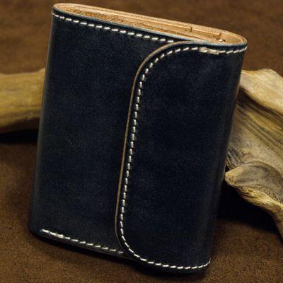 """画像1: Opus """"MINI WALLET"""" UK BRIDLE Leather"""