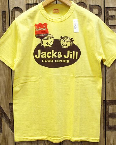 "画像3: CUSHMAN ""JACK&JILL"" RECYCLE COTTON TEE"