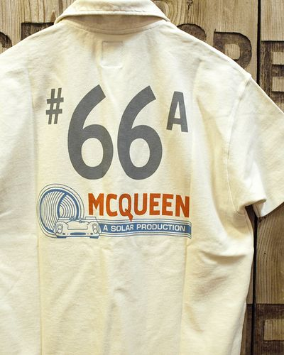 "画像5: S.McQUEEN ""A SOLAR PRODUCTION"" POLO"