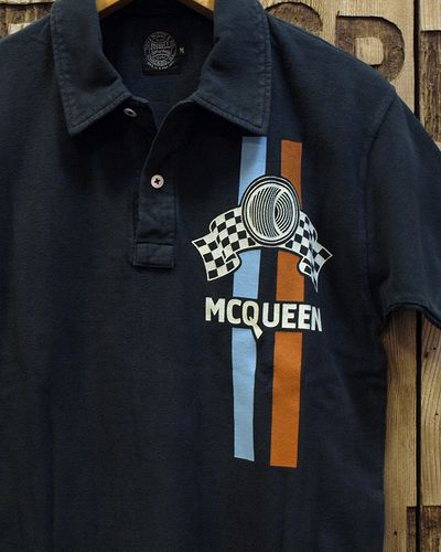 "画像1: S.McQUEEN ""A SOLAR PRODUCTION"" POLO"