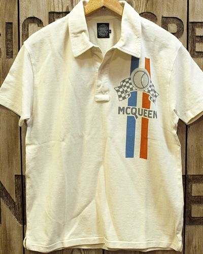 "画像4: S.McQUEEN ""A SOLAR PRODUCTION"" POLO"