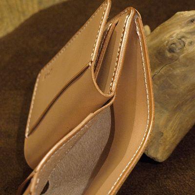 """画像3: Opus """"MINI WALLET"""" UK BRIDLE Leather"""