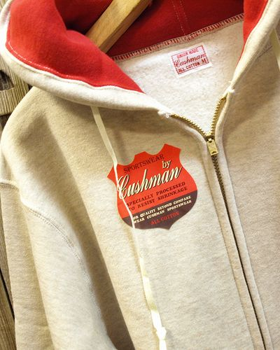 "画像2: CUSHMAN ""FULL ZIP TWO TONE PARKA"" 26116"