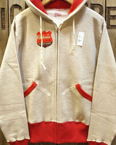 "画像1: CUSHMAN ""FULL ZIP TWO TONE PARKA"" 26116"