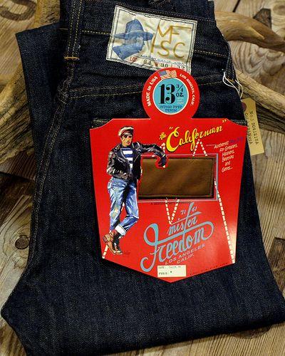 """画像1: Mister Freedom """"CALIFORNIAN"""" Blue Jeans Lot.64"""
