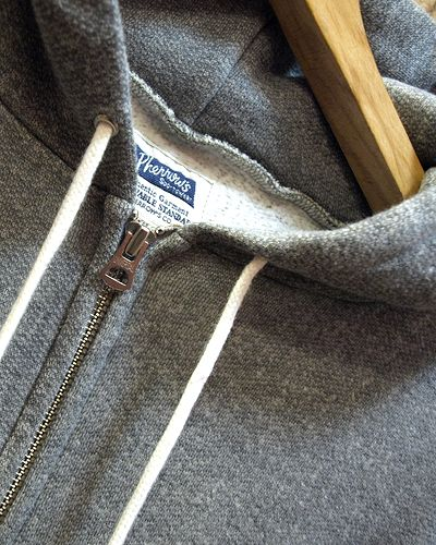 画像2: Pherrow's -PS500- Full Zip Sweat Parka