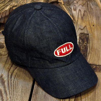 """画像1: FULLCOUNT """"FULL WAPPEN DENIM CAP"""""""