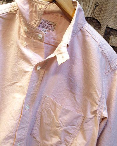 画像3: ADJUSTABLE COSTUME -Work Style Button Down Shirt- / ORANGE