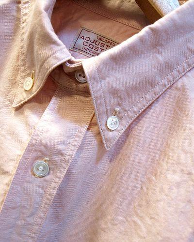 画像2: ADJUSTABLE COSTUME -Work Style Button Down Shirt- / ORANGE