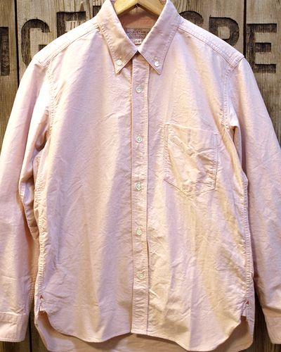 画像1: ADJUSTABLE COSTUME -Work Style Button Down Shirt- / ORANGE