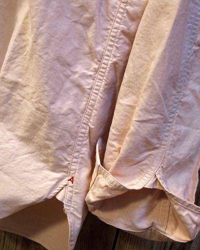 画像4: ADJUSTABLE COSTUME -Work Style Button Down Shirt- / ORANGE